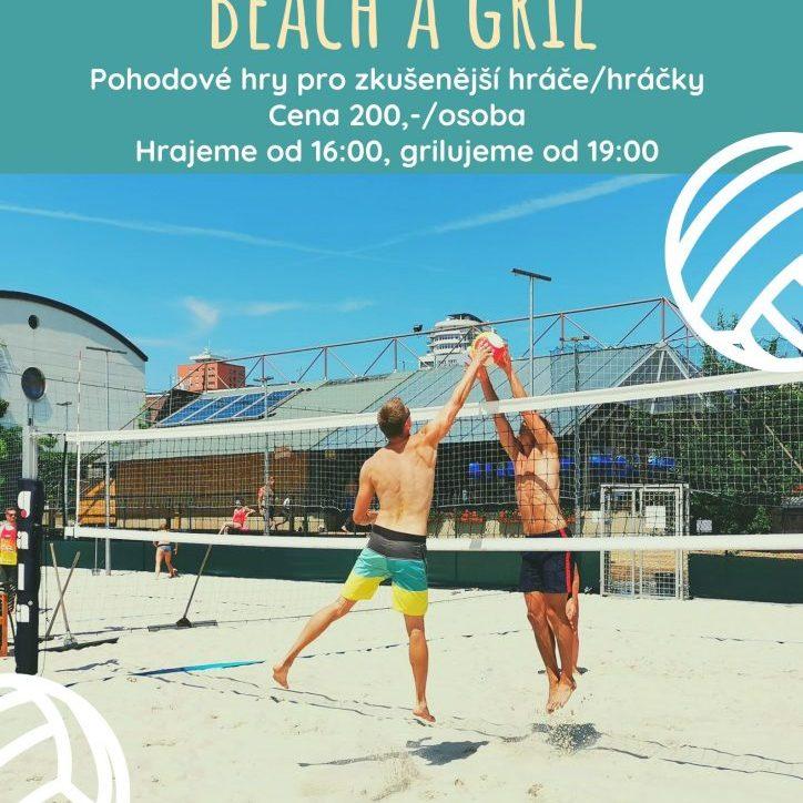 Nedělní Beach a gril