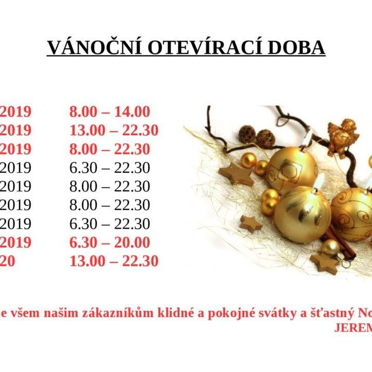Vánoční otevírací doba JEREMI 2019-page-001
