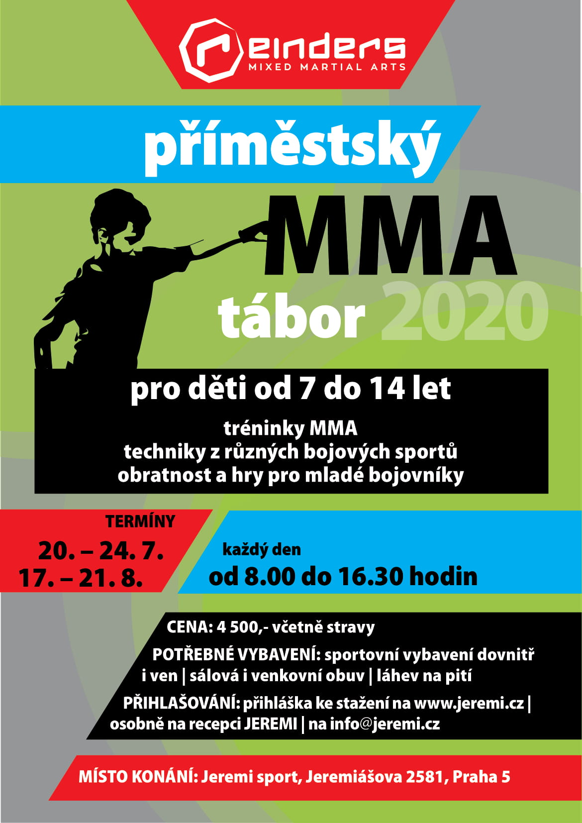 Leták letní MMA kemp 2020-1