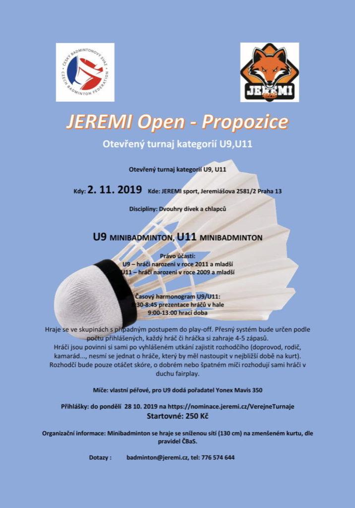 Propozice Jeremi open 2.11.2019-1